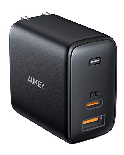AUKEY Omnia PA-B3 65W USB-C PD 3.0 GaN Wall Charger  $25 at Amazon