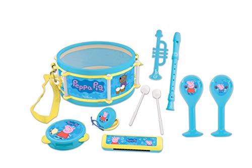 Peppa Pig-• Lexibook Set de Música, 7 Instrumentos en 1,