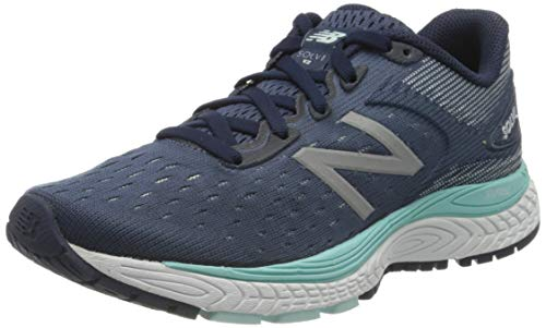 NEW BALANCE Damen WSOLV B d Cross-Laufschuh, Navy, 36.5 EU