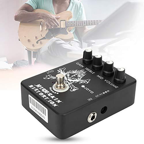 Naroote Electric Guitar Effect, JF-04 High Gain Distortion Electric Guitar Effect Device Pedal