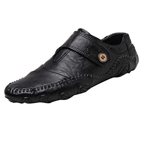 HoSayLike Zapatos De Hombre Hipster Retro Casual Zapatos Individuales Transpirable Al Aire Libre Herramientas Terciopelo Cima Mas Alta Zapatos De Cuero