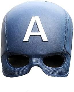 RealFireNSteel Marvel Avengers - Captain America's Helmet (LARP Friendly)
