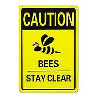 Bee WellSoon超耐久性ブリキサインレトロバーピープルケーブカフェガレージホームウォールデコレーションサイン8x12インチ