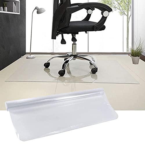 Gnova Schreibtischstuhl-Matte,Stuhlunterlage,Schutz für Hartholzböden,Büroschutzmatte,1.5 mm,transparent (Size : 50x70cm/19.6x27.5in)