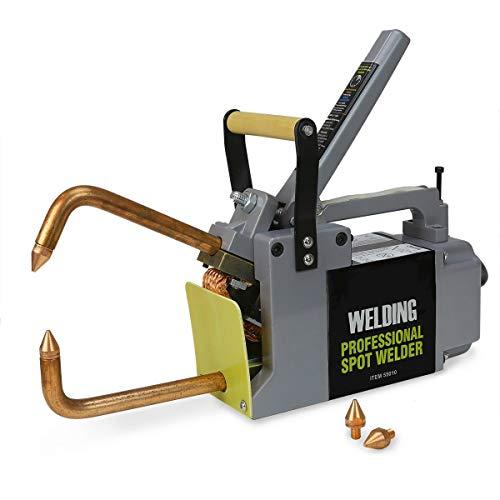 Stark Professional Portable Electric 240 Volt Spot Welder Machine Welding Systems DIY Welding Tips with Handle
