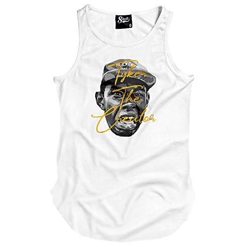 Camiseta Regata Longline Tyler The Creator (P, Cinza)