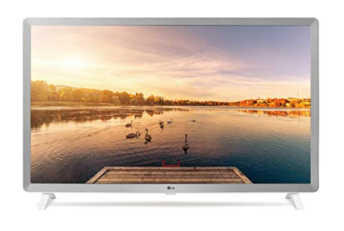 LG 32LK6200PLA - Smart TV Full HD de 80 cm (32') con Inteligencia Artificial, Procesador Quad Core, HDR y Sonido Virtual Surround Plus, Color Blanco Perla