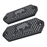 BLACK-RHINO MGM Gun Magnet - Magnetic Gun Mount & Car Holster - HQ Rubber Coated 65 lbs Firearm Accessories. Install in Your Car, Truck, Wall, Vault, Bedside, Doorway, Desk, Safe.