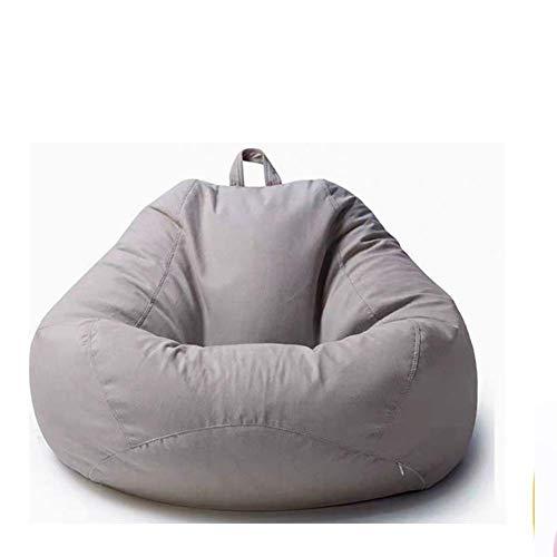 QYSHH Puff Funda de Bean Bag, Sillón Tipo Puf Clásico, Kit de Sillónes de Adulto Infantil, Puf para Interiores y Exteriores