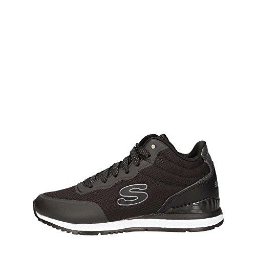 Skechers Sunlite Vega High Schwarz Damen-Sneakers Memory-Schaum 920, Schwarz - Schwarz - Größe: 35 EU