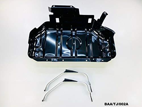 Fuel Tank Skid Plate & Straps Wrangler TJ 2.5L 4.0L 1997-2006 BAA/TJ/002A