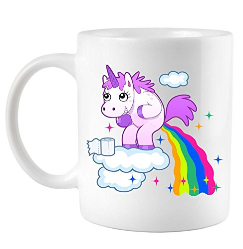 Legenden™ Taza Mágica de Unicornio - Cambio de color como una función de la temperatura del líquido
