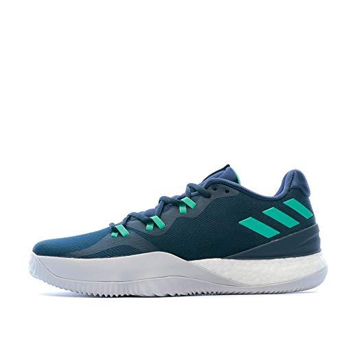 adidas Herren Crazy Light Boost 2018 Basketballschuhe, Blau (Maruni/Vealre/Grpulg 000), 45 1/3 EU