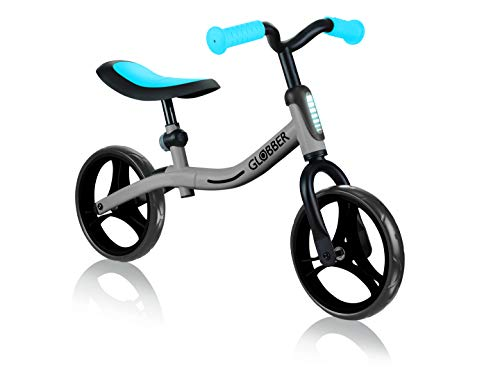Globber GO Bike, Silber/Sky-Blau, Niños, Plateado/Azul Cielo