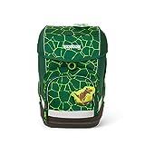 Ergobag cubo BärRex, ergonomischer Schulrucksack, Set 5 teilig, 19 Liter, 1.100 g, Grün