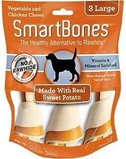 Smartbones Rawhide-Free Dog Bones, Sweet Potato Flavor