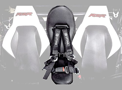UTVMA RZR800SBS RZR 800 & RZR S 800 Bump Seat with 4-Point Harness