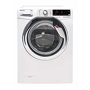 Hoover DXOA 610AHC3/1-S Independiente Carga frontal 10kg 1600RPM A+++ Blanco – Lavadora (Independiente, Carga frontal…