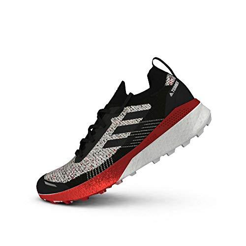 adidas Herren Terrex Two Ultra Parley Laufschuhe, Balcri/Negbás/Escarl, 48 EU