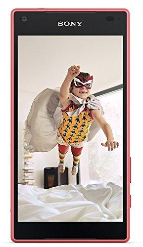 Sony Xperia Z5 Compact Smartphone (4,6 Zoll (11,7 cm) Touch-Bildschirm, 32 GB interner Speicher, Android 5.1) koralle (Generalüberholt)