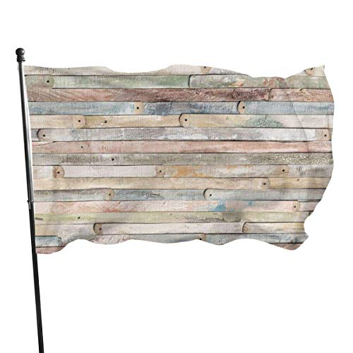 ALLdelete# Flags Outdoor Wood 11 Gartenflagge, Familienflagge - 3 X 5 ft