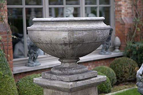 pompidu-living Vase, Amphore, Pflanzkübel, Stein Farbe Sandstein