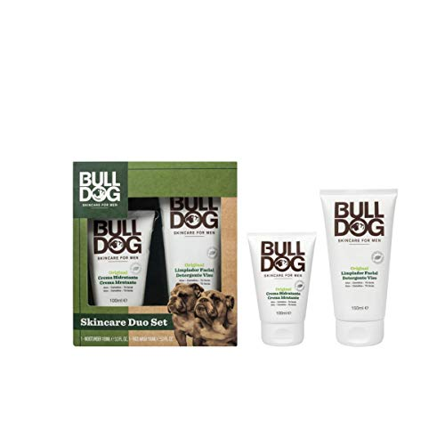 Bulldog - Pack Cuidado Facial - Limpiador Facial 150 ml + Crema Hidratante - 100 ml