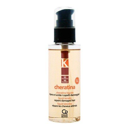 K-Cheratina Liquida - Siero Professionale con Cheratina Idrolizzata e Olio di Argan per Capelli Danneggiati - Trattamento Professionale Idratante e Ristrutturante - 100 ml
