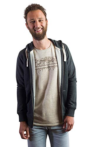 Zipper Hoodie aus Bio-Baumwolle - 2
