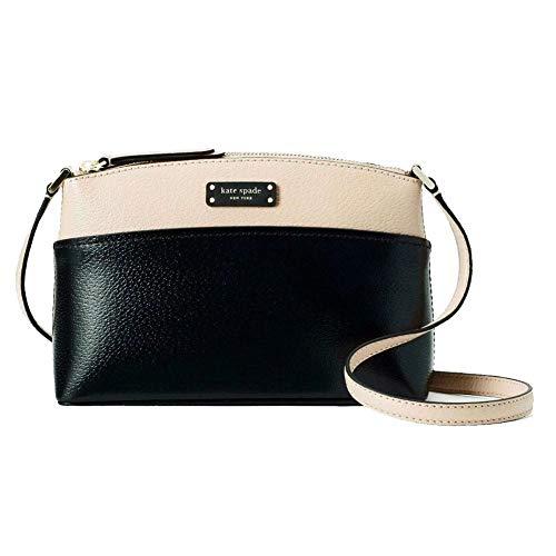 Kate Spade New York Jeanne Crossbody Bag - Warm Beige/Black, Medium