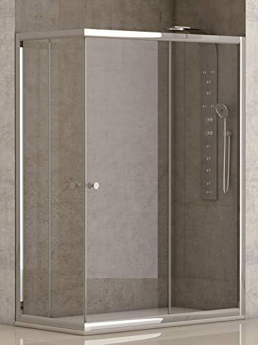Mampara Ducha 70 X 70 Transparente Marca EL ALMACEN DEL PROFESIONAL