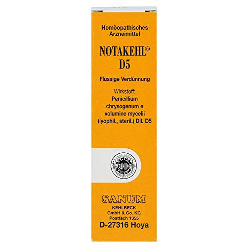 NOTAKEHL D5 flüssige Verdünnung, 10 ml Lösung