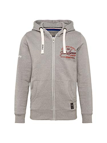 JACK & JONES Herren Sweatjacke grau (13) L