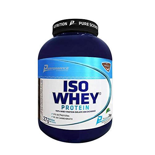 Iso Whey Protein Isolado 2Kg Morango - Performance Nutrition, Performance Nutrition