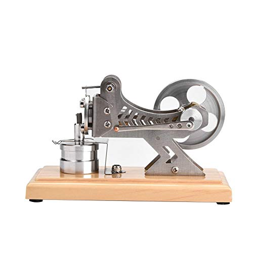 Kits de Motor Sterling,Modelo de Motor Stirling de Aire Caliente,Mini Motor Modelo de Motor,Modelo de Motor Vacío,Motor Led Air Stirling para Adultos Niños,Juguete Educativo para Estudiantes