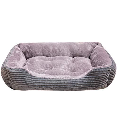 SizeName - Cama de gato de moda, sofá de cama de forro polar cálido para pequeños gatos, perreras, animales de compañía, gatitos, productos de casa de perro LA