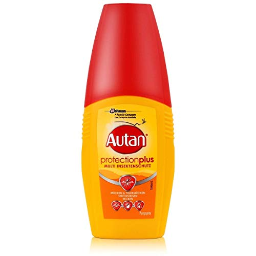 Autan Protection Plus, Multi-Insektenschutz, Pumpspray, 100 ml