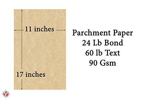 Mohawk Skytone Vellum Parchment Paper, 60 Text 11 X 17 Inches, 50 Sheets (New White) Photo #2