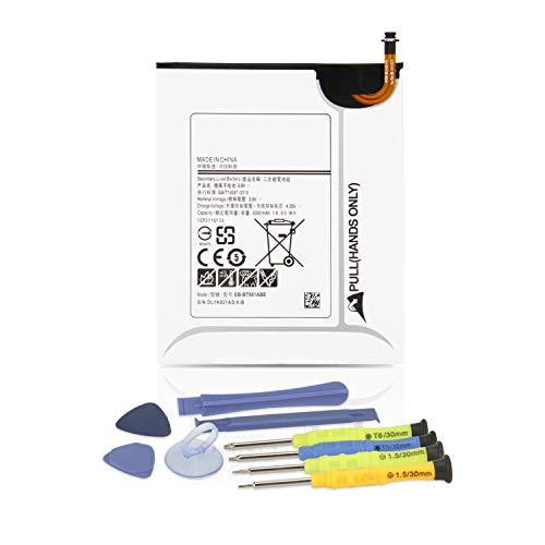 ANTIEE 5000mAh EB-BT561ABA EB-BT561ABE Tablet Akku für Samsung Galaxy Tab E 9.6 T560 T561 SM-T560(WiFi) SM-T561(3G & WiFi) Series 9.6