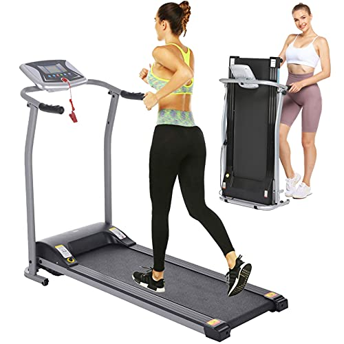 Electric Folding Treadmill for Home