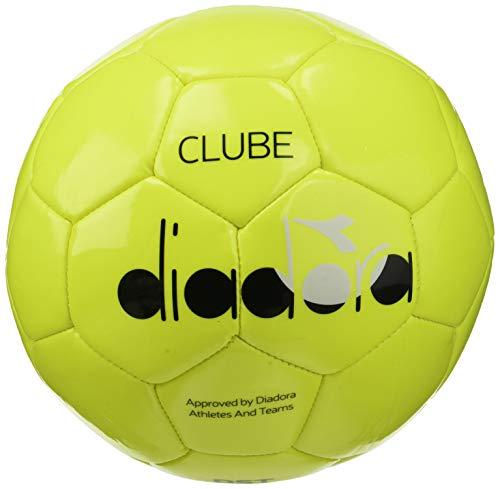 Diadora Sport 103173471 Clube 4, Berretto Unisex, Giallo Fluo/Nero, Taglia Unica