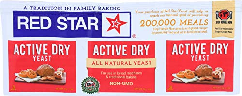 Red Star, Yeast Active Dry, 0.25 Ounce, 3 Count