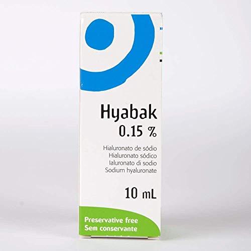 3 x neu HYPOTONISCH Hyabak 10ml Ohne Konservierungsmittel
