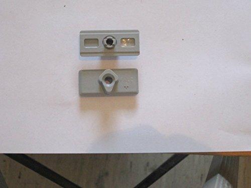 ROTO NT Schnäpperzapfen, klippsbar auf Getriebe, grau (256020) ; 1 Stück