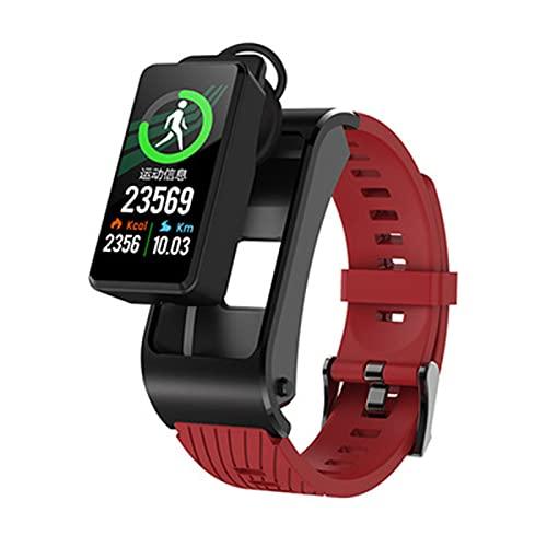 LKM H21 Ratio cardíaco y presión Arterial Recordatorio de Llamada Bluetooth Smart Watch Smart Watch Reloj Deportivo multifunción para Android iOS,B