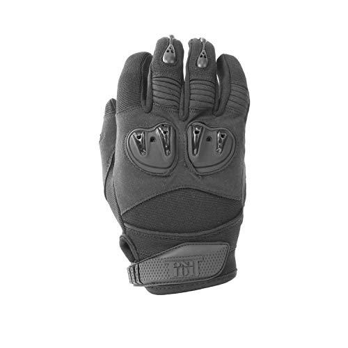 Copytec Einsatzhandschuhe Special Forces Ranger schwarz Airsoft Survival Security #17136, Größe:S, Farbe:Schwarz