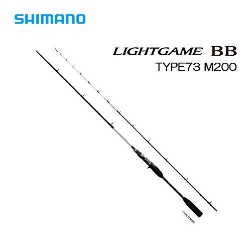 シマノ(SHIMANO) ロッド ライトゲーム BB タイプ73 M200