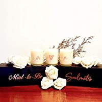 Houghton and Gough Trio Candle Set – Valentine's Edition (Mint-To-Be)