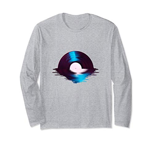 Disco de vinilo Sunset By Sea Water Audio-Vinyl Music Tape Manga Larga
