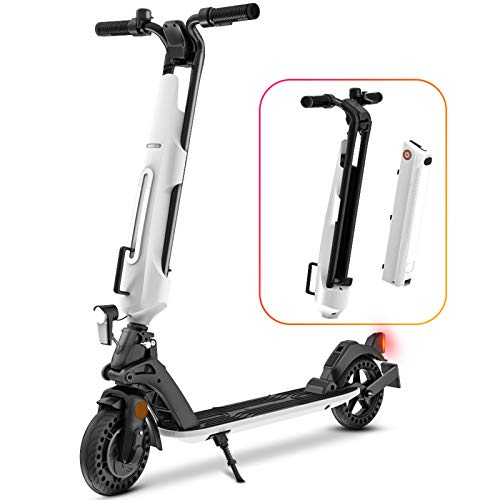 Elektroscooter Erwachsene e Scooter mit straßenzulassung eKFV E Roller Elektroroller Faltbarer 30km Elektro Roller...